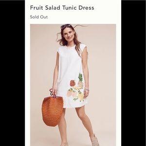 Anthropologie Holding Horses Fruit Salad dress s